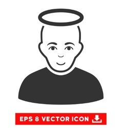 Holy Man EPS Icon vector image