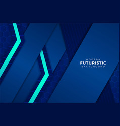 modern futuristic background light blue with vector image