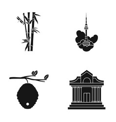 museum beekeeping tourism and other web icon in vector image