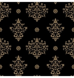 royal seamless pattern baroque vector image