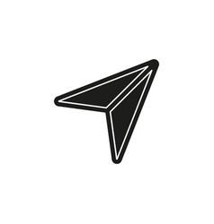 simple cursor icon vector image