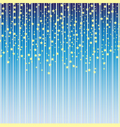 star pattern baby background with stars kids vector image