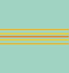 tropical blue yellow orange striped vector image