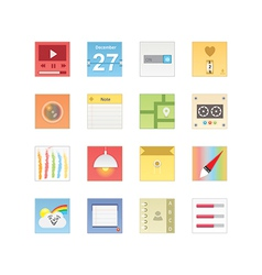 Web icons 21 vector image