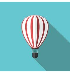 Beautiful hot air balloon vector image vector image
