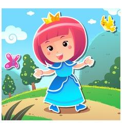 Princess Lily vector image