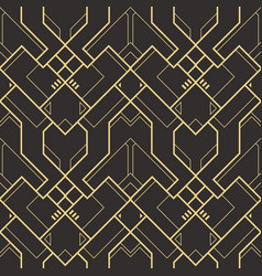 abstract art deco pattern01 vector image
