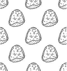 porcupine or hedgehog on white background vector image