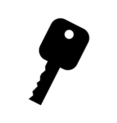 car key icon design vector image