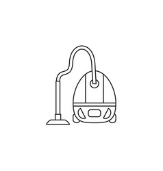 a vacuum cleaner icon vector image