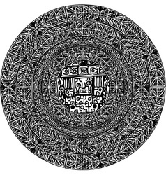 ancient pattern vector image