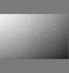 black dark light polygonal mosaic background low vector image