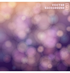 Bokeh colorful background vector