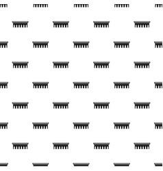 Bridge pattern vector