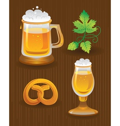 Collections for octoberfest vector