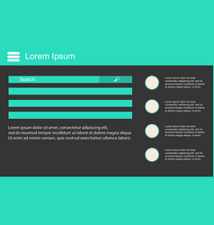 Data design business infographic collection vector