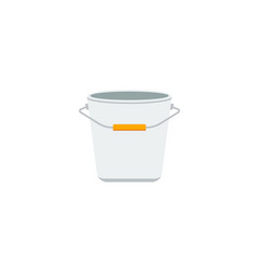 Flat icon pail element of vector