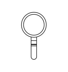 magnifier search technology tool element find vector image