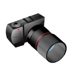Photo camera in vector
