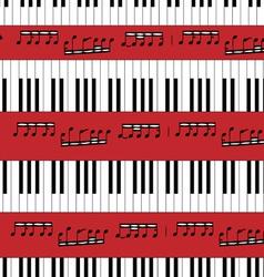 Piano Keys Pattern vector