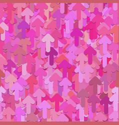 Seamless random arrow pattern background vector