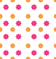 Seamless Texture with Flowers Elegance Child vector image