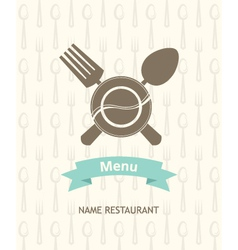 menu banner vector image vector image