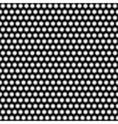 Illuminated wall of lights Eps 10 vector image