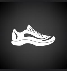 sneaker icon vector image vector image