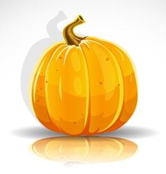 Beautiful Halloween pumpkin vector