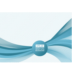 blue wave abstract background with vector image