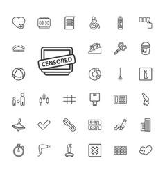 Button icons vector