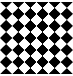 Checkered seamless background pattern of squares vector