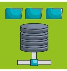 Data base file folder vector