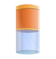 filter water tube icon cartoon style vector image