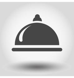 Food serving vector