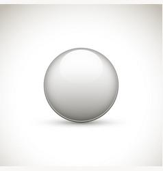 Gray round button vector