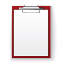 Image of the black tablet with paper vector