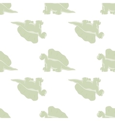ridiculous dinosaurs on a white background vector image