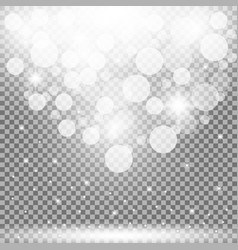 particles of light vector image vector image