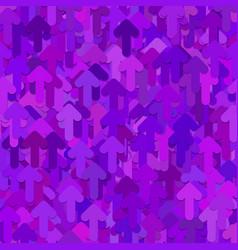 Seamless abstract random arrow pattern background vector