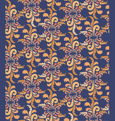 abstract floral ethnic pattern geometric floral vector image