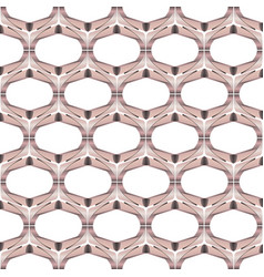 angular bronze metal background pattern vector image