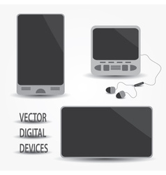 digital devices eps10 vector image