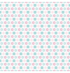 Light floral romantic pattern tiling vector