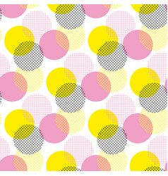modern geometry seamless pattern vector image