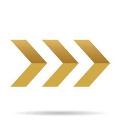 popular abstract zig zag gold chevron stack vector image