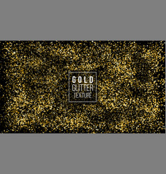 golden dust explosion glitter confetti great for vector image