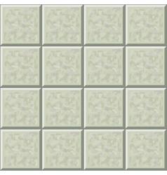 Marble ceramic tile gray floor seamless pattern vector image