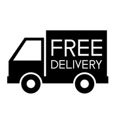 free delivery support icon vector image vector image